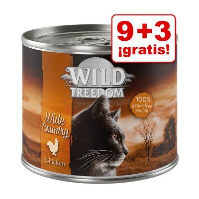 Wild Freedom Adult 12 x 200 / 400 g en oferta: 9 + 3 ¡gratis!  - Farmlands - Vacuno y pollo (12 x 200 g)