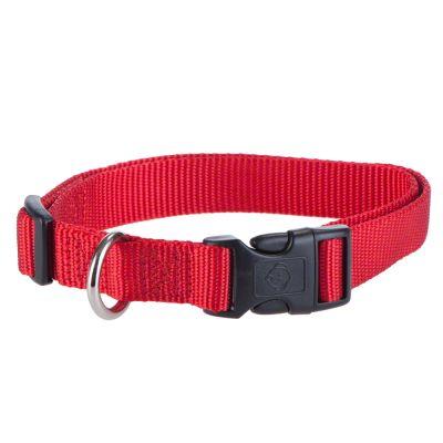 HUNTER Ecco Sport Vario Basic -nailonpanta, punainen - S-koko: kaulanympärys 30 - 45 cm, leveys 15 mm
