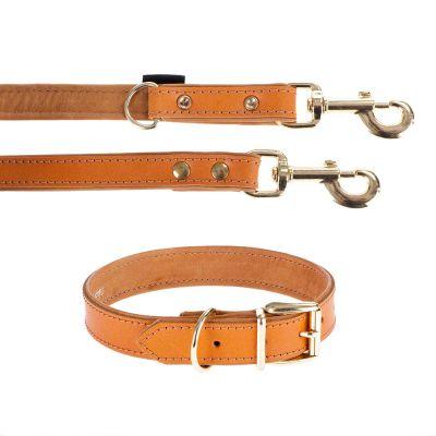 heim-set-lederen-halsband-riem-buffalo-halsband-maat-55-lijn-200-cm