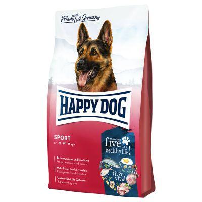 Happy Dog Supreme fit & vital Sport - 2 x 14 kg - Pack Ahorro