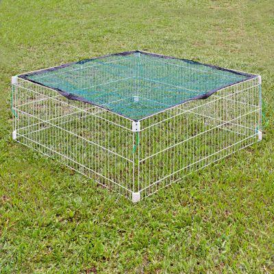 Outback hage, rektangulär – 4 delar  B 115 x H 52 cm