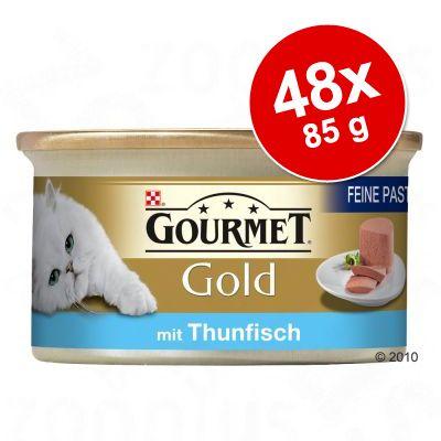 Blandat paket Gourmet Gold, 48 x 85 g – Gourmet Gold Fina kompositioner