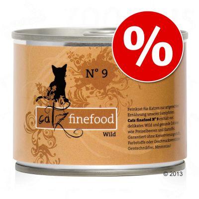 Catz Finefood kissanruoka 6 x 200 g erikoishintaan! - lajitelma II