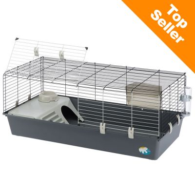 Ferplast Rabbit 120 -pieneläinhäkki - harmaa: P 118 x L 58,5 x K 51,5 cm