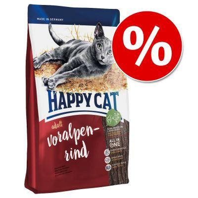 Happy Cat -kuivaruokaa 10 kg - 2 €! - Supreme Sterilised Beef