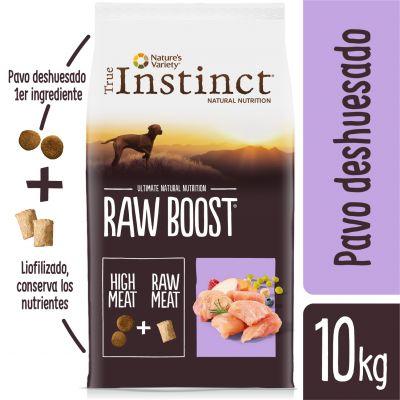 Nature's Variety True Instinct Raw Boost con pavo - 2 x 10 kg - Pack Ahorro