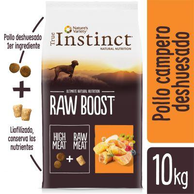 Nature's Variety True Instinct Raw Boost con pollo campero - 10 kg