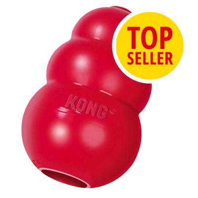 KONG Classic rojo juguete para perros - L (perros de entre 13 y 30 kg)