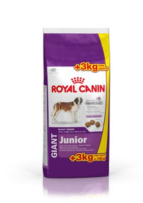 15 3 kg ZDARMA! 18 kg Royal Canin Size Giant Adult