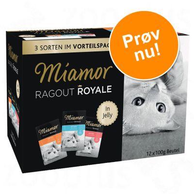 blandet-provepakke-miamor-ragout-royale-12-x-100-g-kanin-kylling-tun
