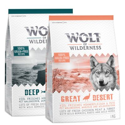 "Wolf of Wilderness Adult ""Classic"" - Mixpaket I"