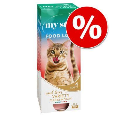 My Star kissanruoka 10 x 85 g / 90 g erikoishintaan! - mousse - kananmaksa 10 x 90 g