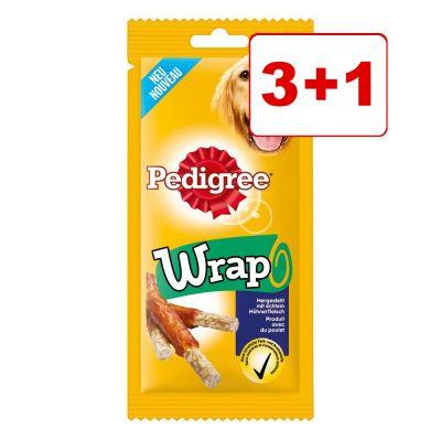 Pedigree Wrap & Munch 3 + 1 kaupan päälle! – Pedigree Wrap 3 x 40 g