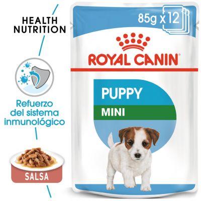 Royal Canin Mini Puppy comida húmeda para perros - 48 x 85 g - Megapack
