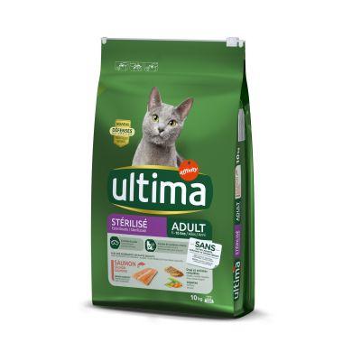 Ultima Cat Sterilized Salmon & Barley - 2 x 10 kg