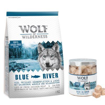 Wolf of Wilderness Adult 4 kg Trockenfutter + gefriergetrocknete Premiumsnacks
