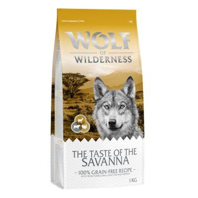 """Wolf of Wilderness """"The Taste Of The Savanna"""" - met rund en geit"""