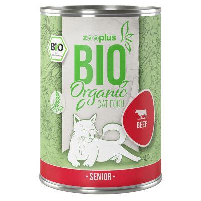 zooplus Bio Senior hovězí s dýní 6 x 400 g