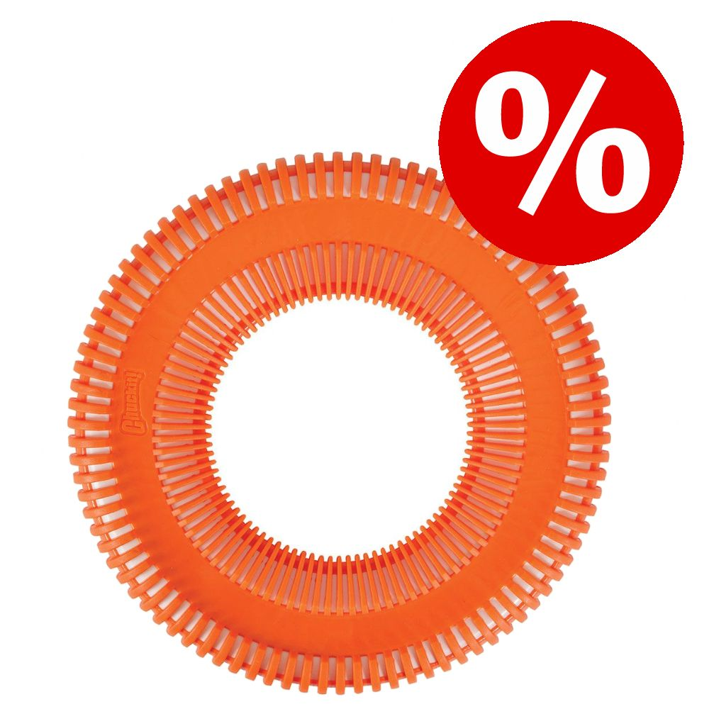 Chuckit! Rugged Flyer orange hundleksak till sparpris! - Large: Ø 25 cm