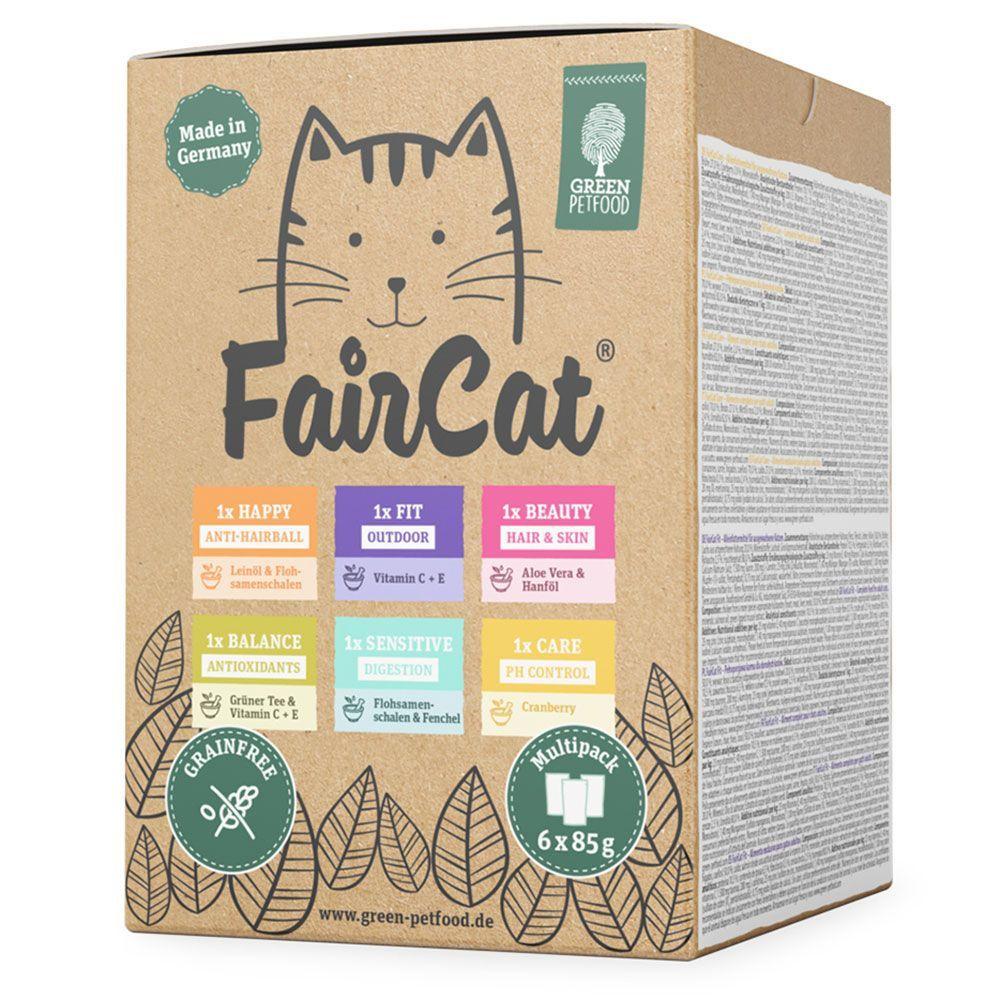 FairCat Multipack - Ekonomipack: 24 x 85 g