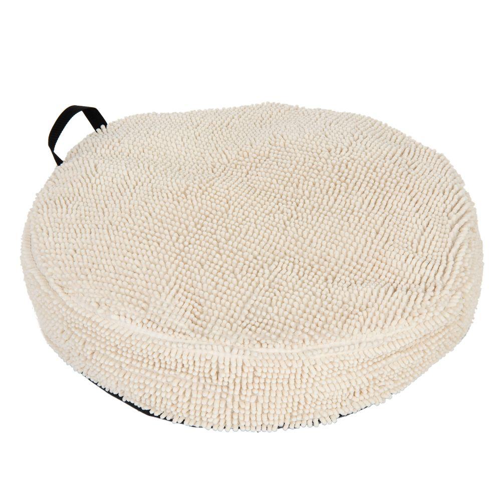 Cream liggkudde - Ø 70 cm