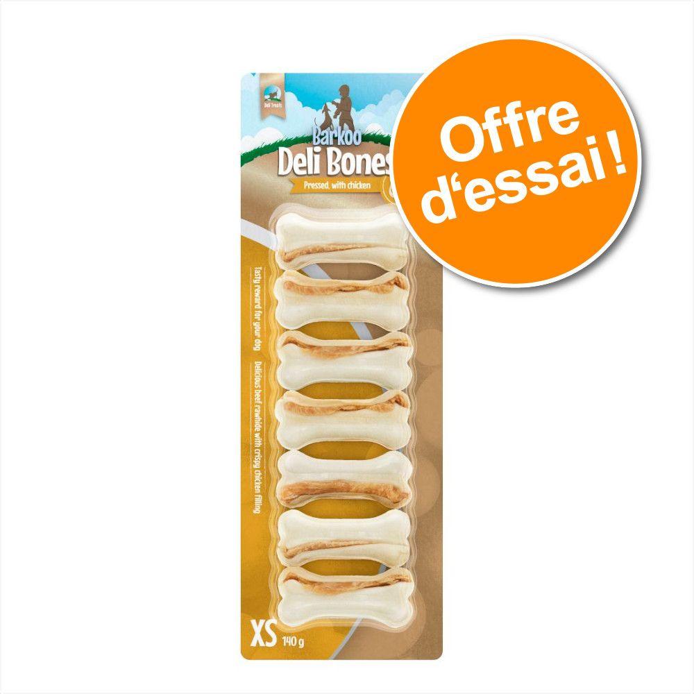 Offre d'essai Barkoo Deli Snacks pour chien - Deli Sticks poulet (75 g)