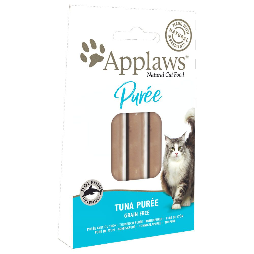 Applaws Purée - Ekonomipack: 24 x 7 g Tuna