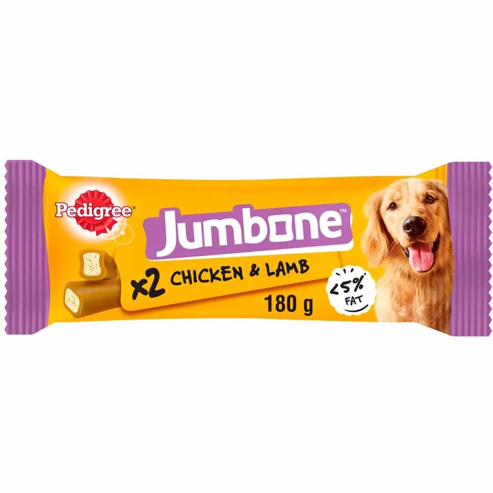 Medium Chicken Jumbone Pedigree Dog Treats