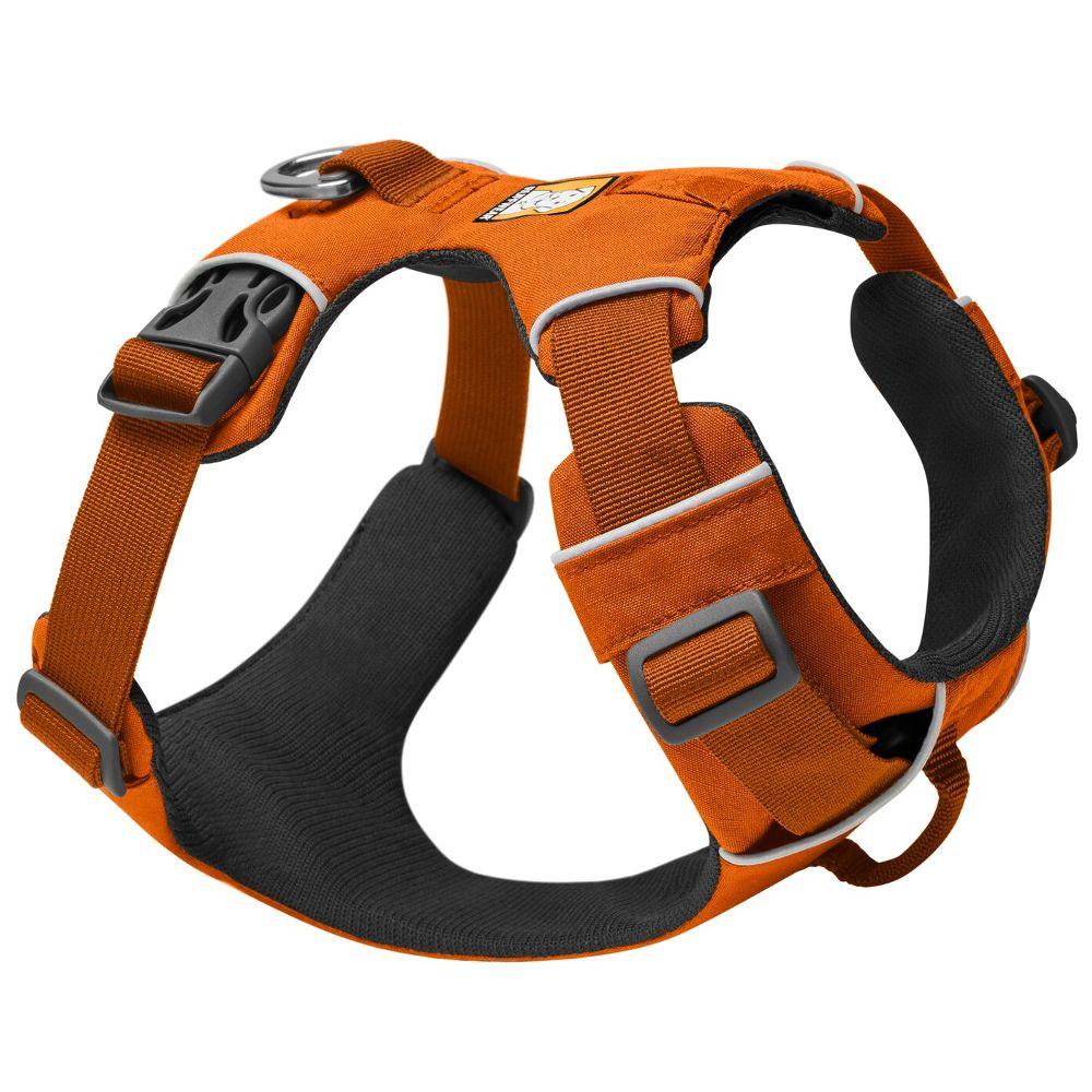 Ruffwear Front Range Harness hundsele – Stl. L-XL: 81 – 107 cm bröstomfång B 25 mm orange