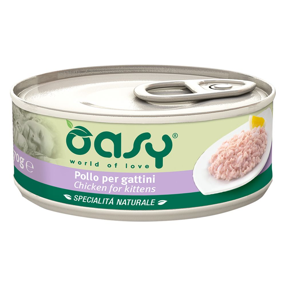 Image of Oasy Natural Adult 70 g - Tonno con Gamberetti