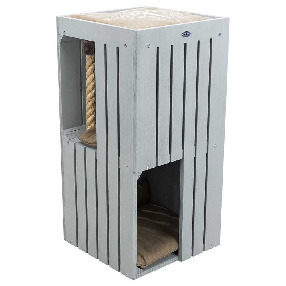 Trixie BE NORDIC Cat Tower Juna - grau