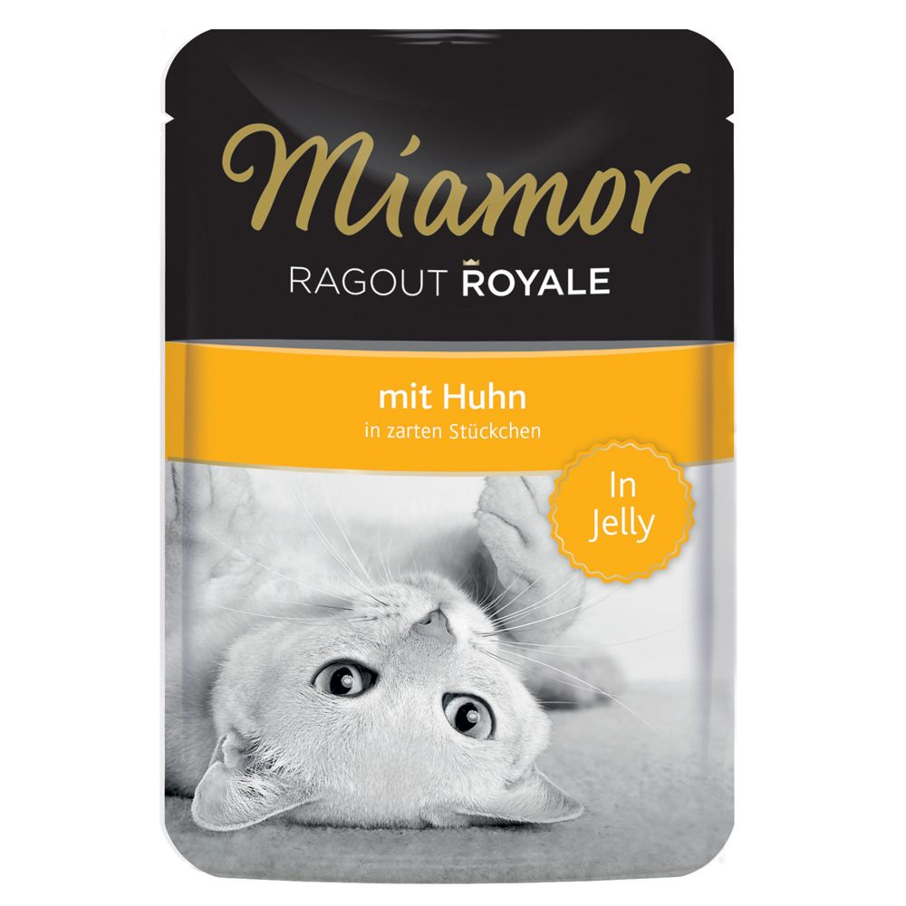Miamor Ragout Royale in Jelly 22 x 100 g - Huhn