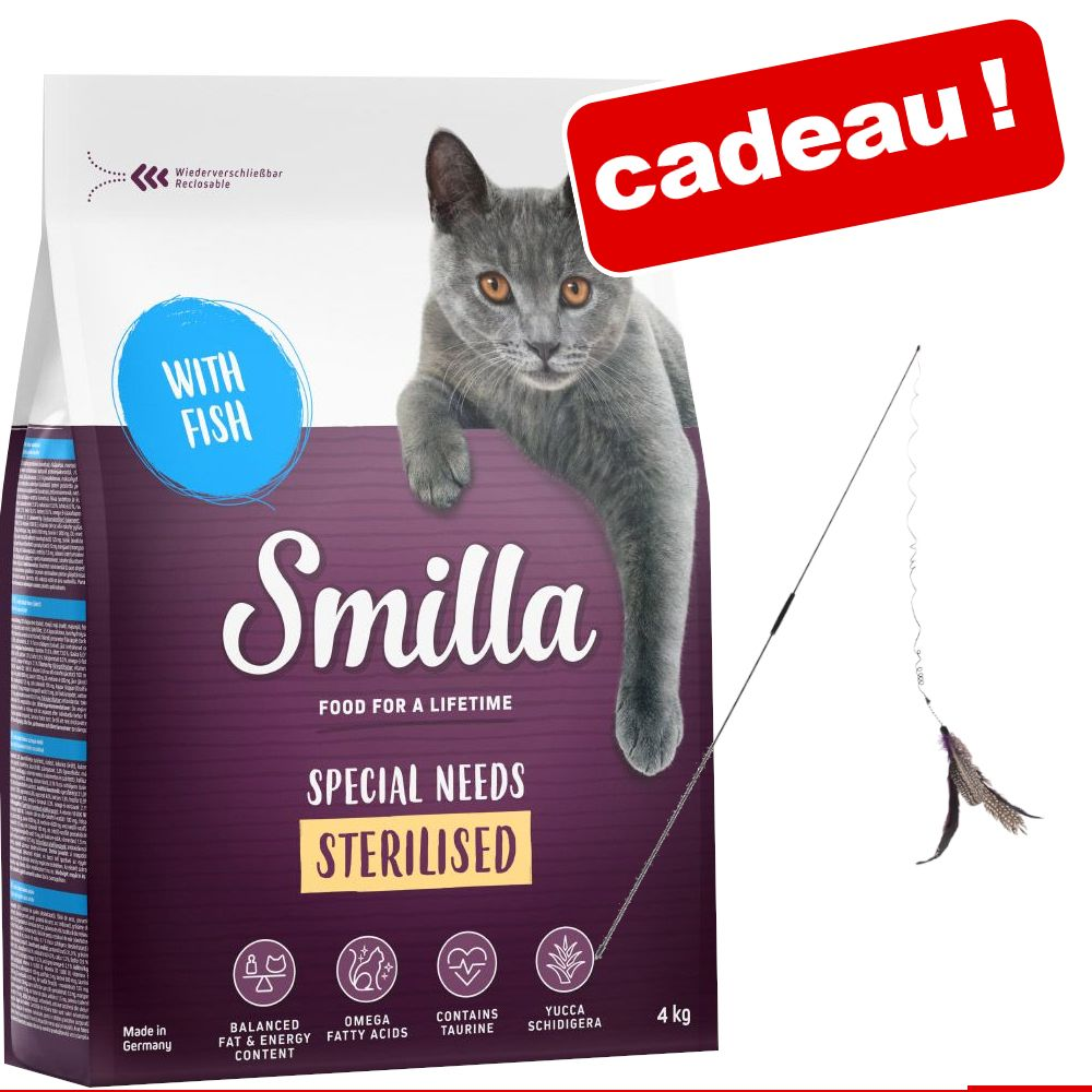 4kg Indoor Smilla Croquettes pour chat