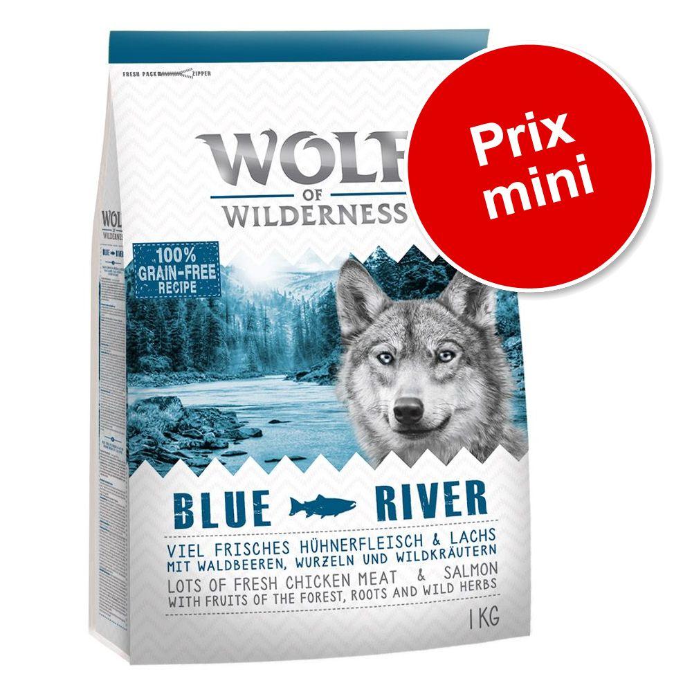 1kg Elements Rocky Canyons, bœuf Wolf of Wilderness Croquettes pour chien à prix spécial !