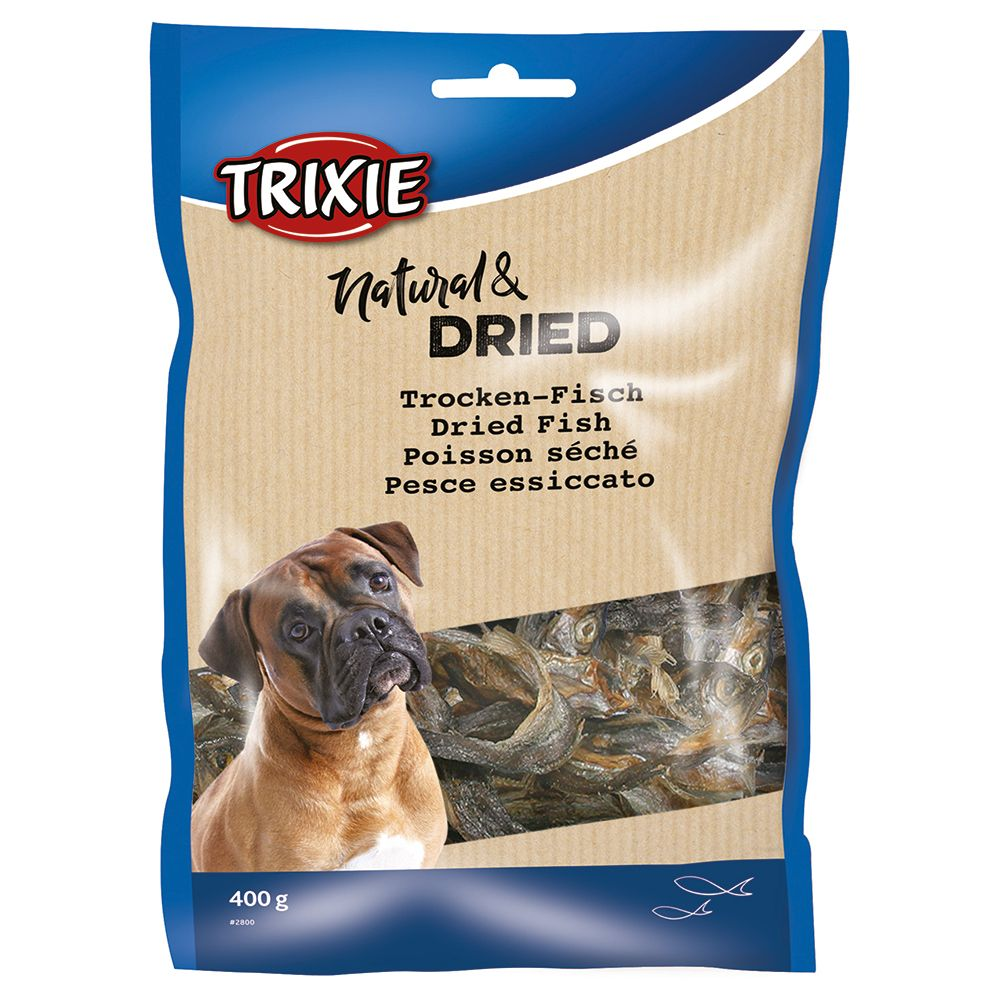 Dried Sprats Dog Treats Trixie