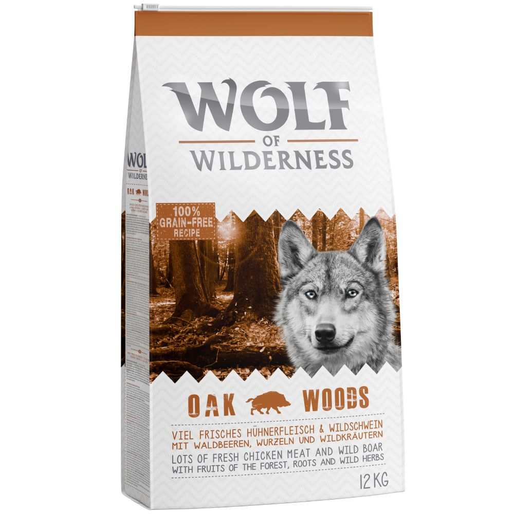 Wild Boar Oak Woods Wolf of Wilderness Dry Dog Food
