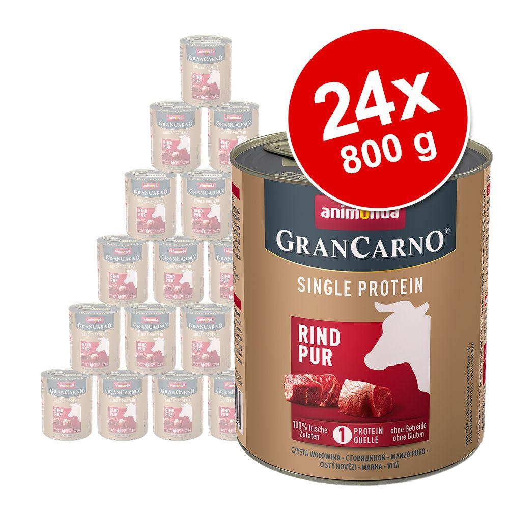 Animonda GranCarno Adult Single Protein 24 x 800 g - Kalkon Pur