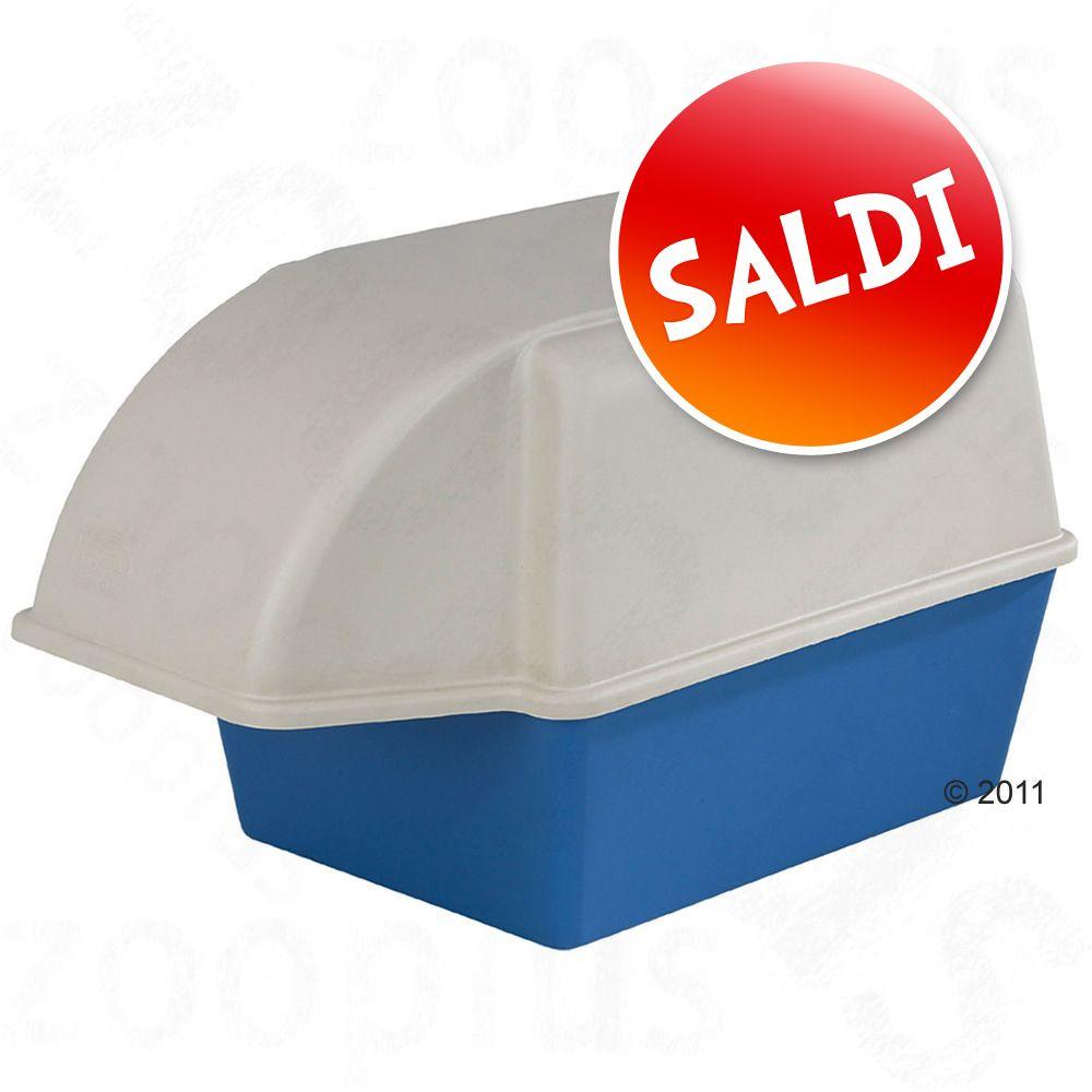 Foto Toilette per gatti Marchioro Freecat Maxi - blu / bianco Box toilette speciali