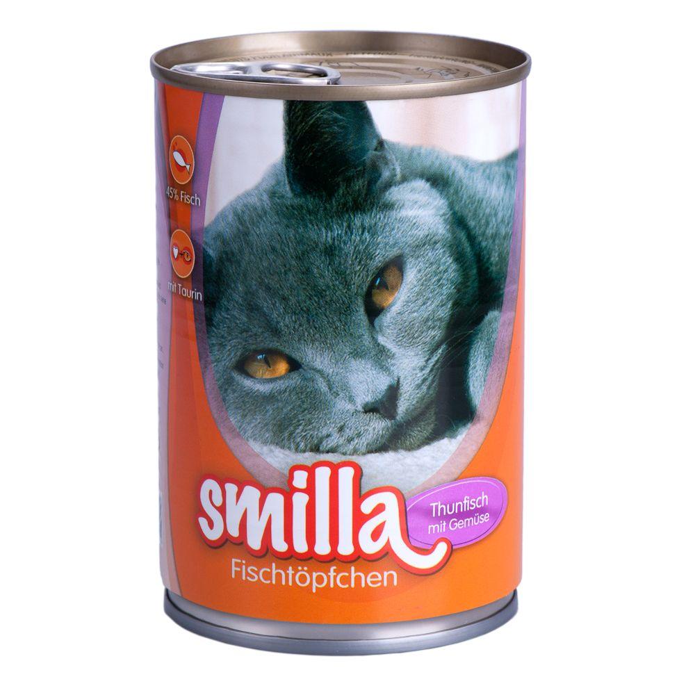 Chat Boîtes et sachets ★ Smilla Boîtes Smilla saveur poisson pour chat