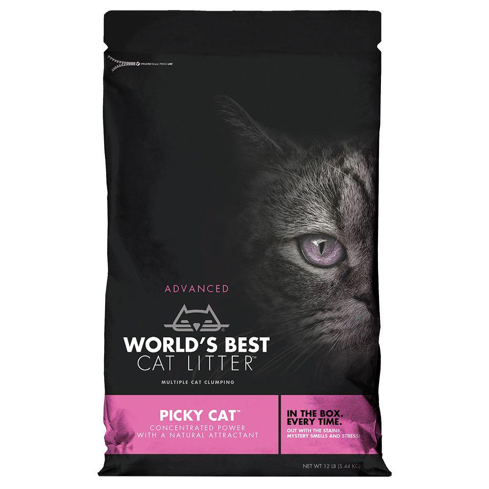 Worlds Best Cat Litter Picky Cat kattströ - Ekonomipack: 2 x 10,89 kg