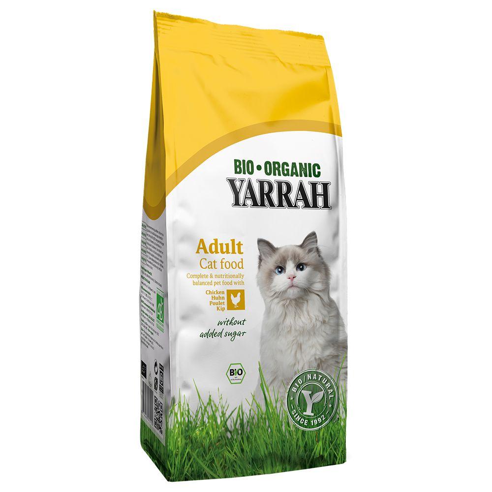 Yarrah Bio Katzenfutter mit Huhn - 10 kg