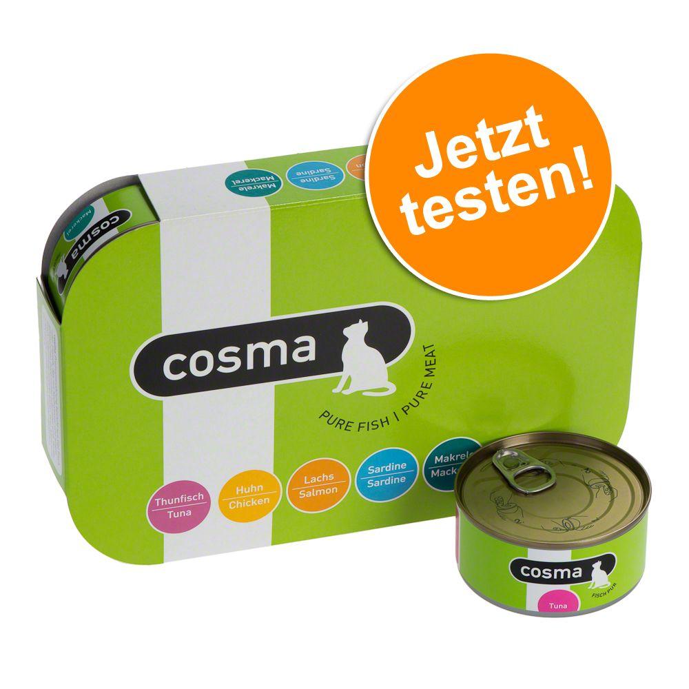 Gemischtes Probierpaket: Cosma Original in Jelly - 6 x 400 g