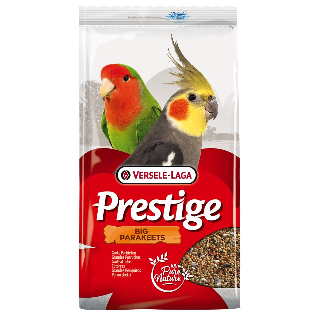 4kg Versela-Laga Prestige Large Parakeet/Cockatiel Bird Food