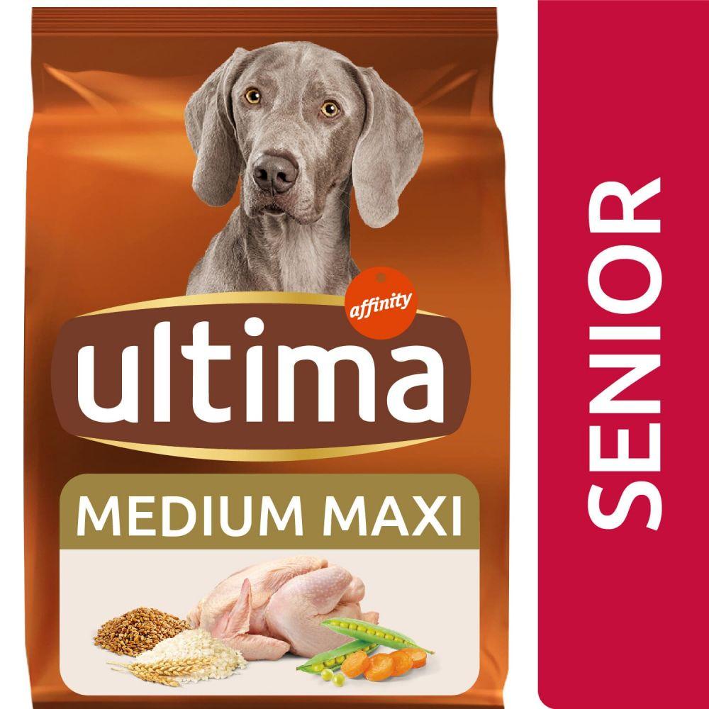 Ultima Medium-Maxi Senior - 10 + 2 kg ¡gratis!