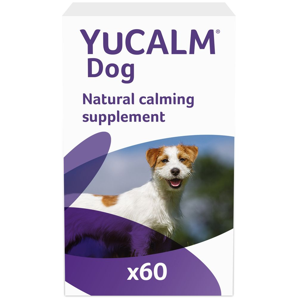 YuCALM Calming Supplement for Dogs - 120 Tablets