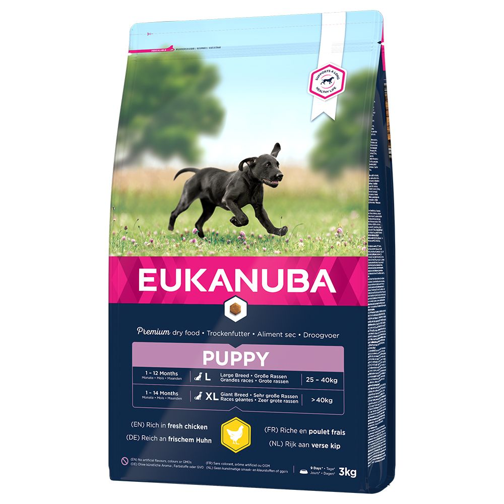 Image of Eukanuba Puppy Large Breed Pollo - 3 kg