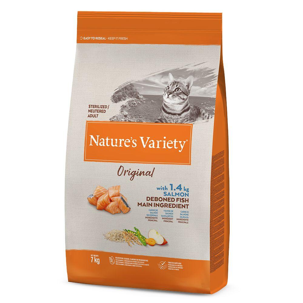 Nature's Variety Original Sterilised Salmon - Ekonomipack: 2 x 7 kg
