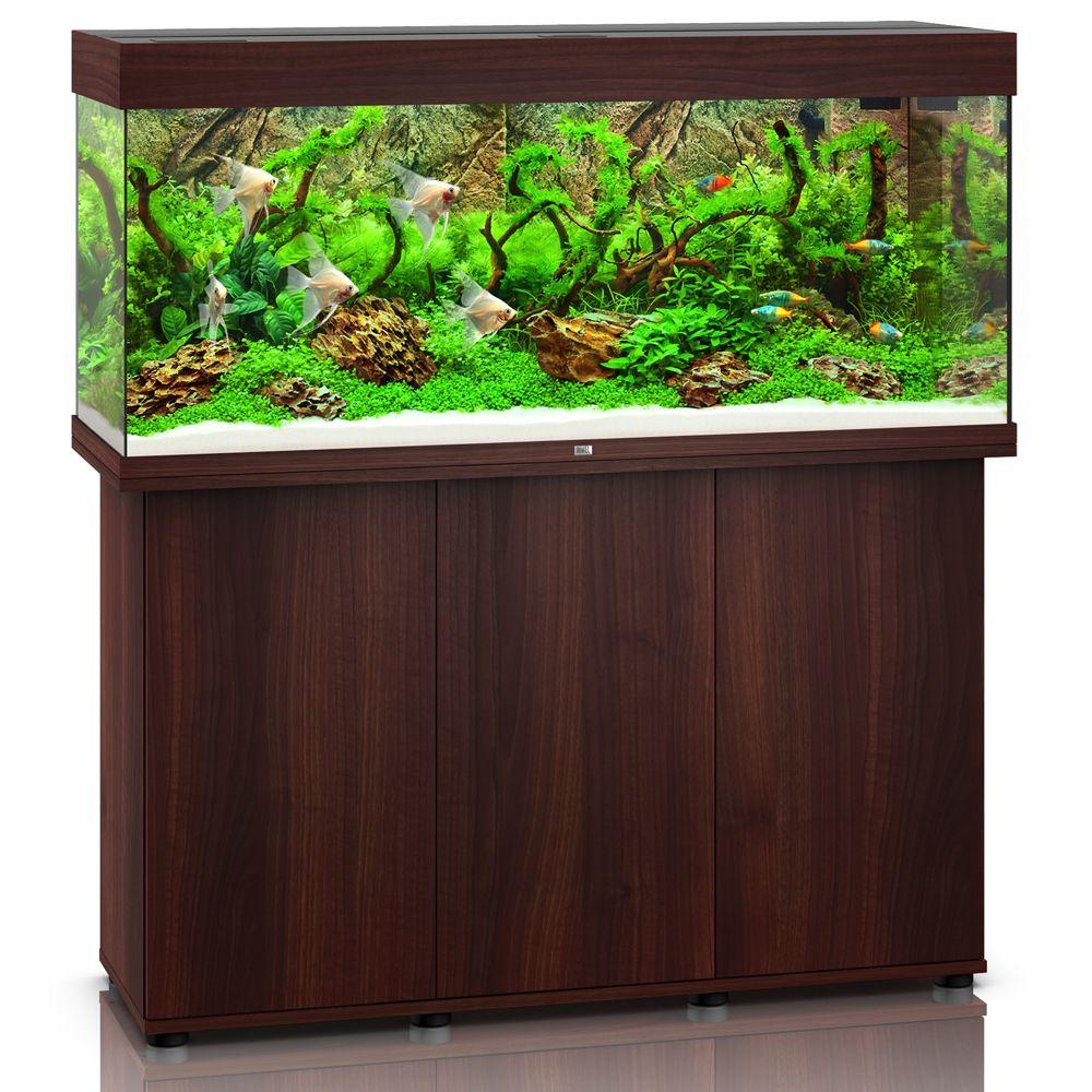 Akwarium Juwel Rio 240 LED SBX - Ciemnobrązowe