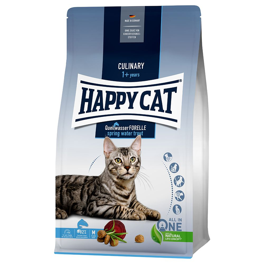 Happy Cat Culinary Adult Spring Water Trout - 1,3 kg