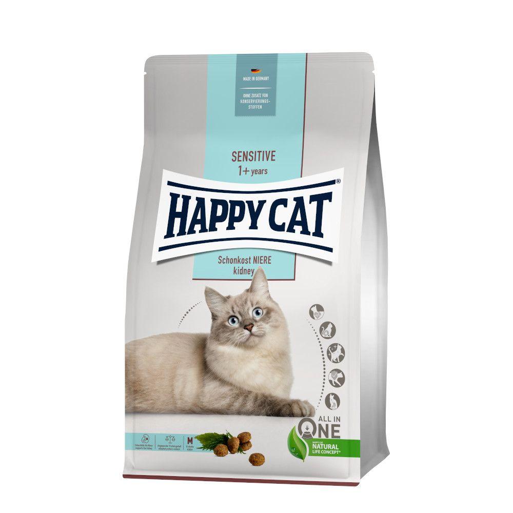 4kg Happy Cat Sensitive Santé rénale - Croquettes pour chat
